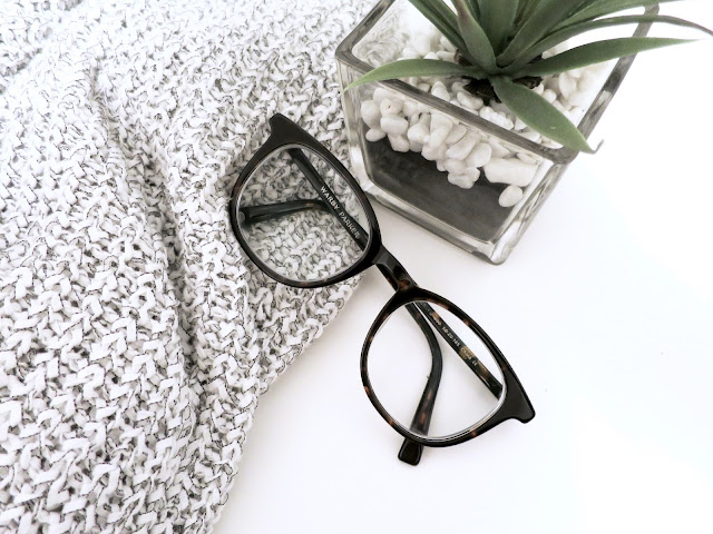sweater, glasses, plant, warby parker,