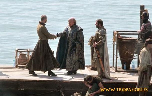 Imágenes set de rodaje quinta temporada juego de tronos