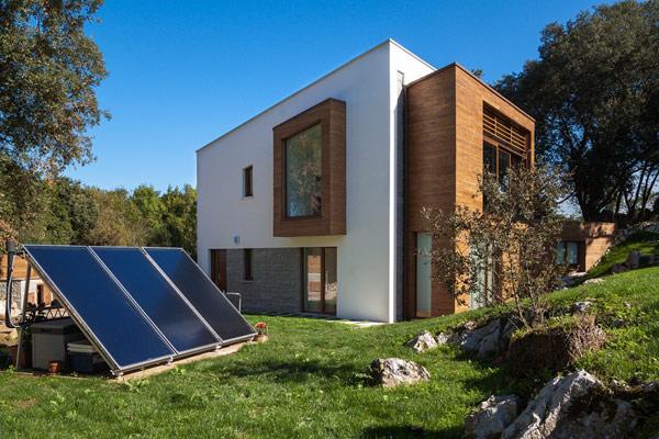 Diseno de casa sostenible dise o de casas home house design - Casa de bambu madrid ...
