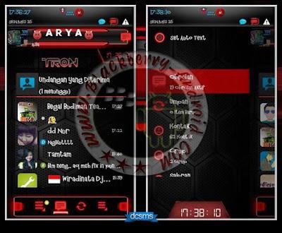 BBM Mod Droid Chat Warna Merah v2.8.0.21 Apk
