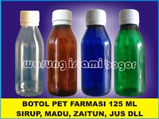 Jual Botol Plastik PET Farmasi Cibinong Bogor