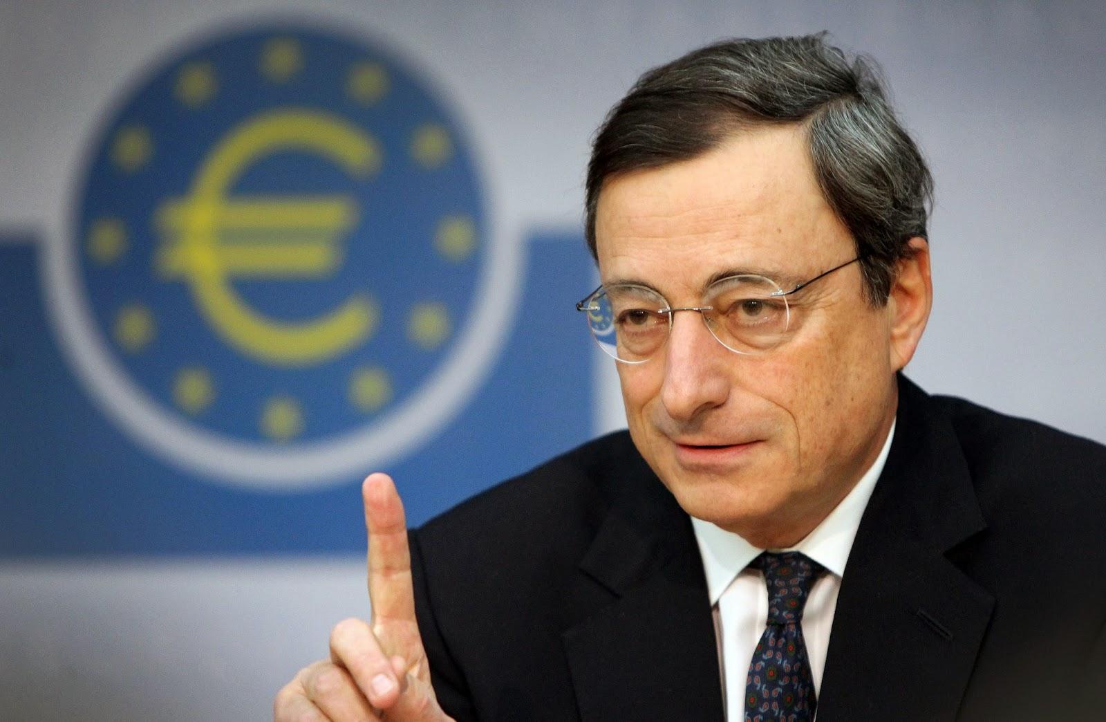 Draghi siguiendo los dictados de la banca privada y del gobierno alemán