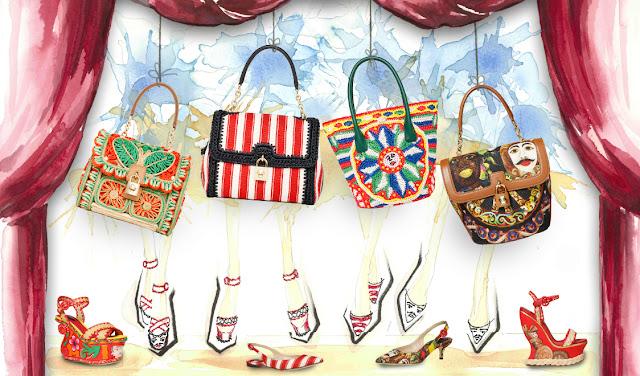 Dolce & Gabbana Sicilian Souvenirs bags