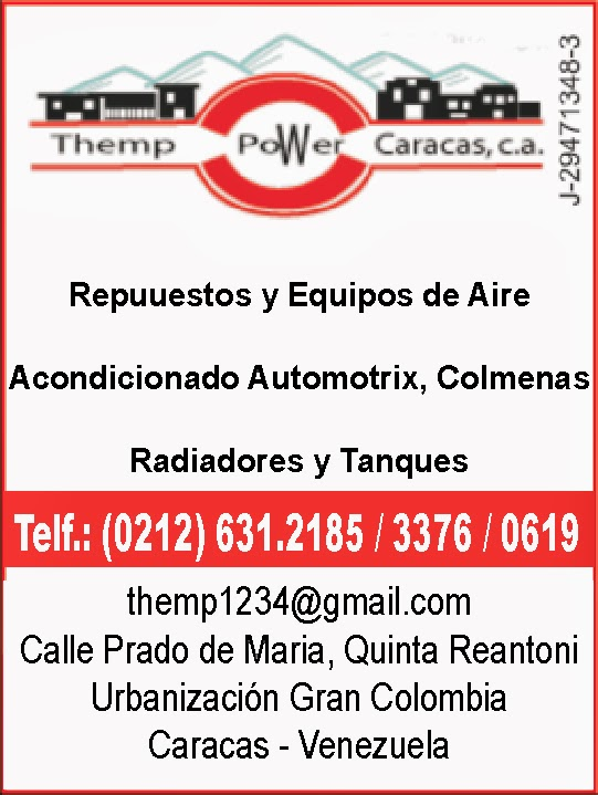 THEMP POWER CARACAS, C.A. en Paginas Amarillas tu guia Comercial