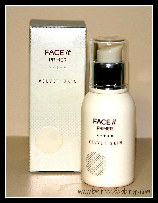Belindau0026#39;s Babblings The Face Shop Velvet Skin Face It Primer Review
