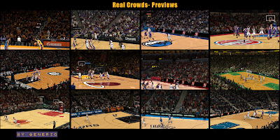 NBA 2K13 Crowds Mod Pack - 30 Teams
