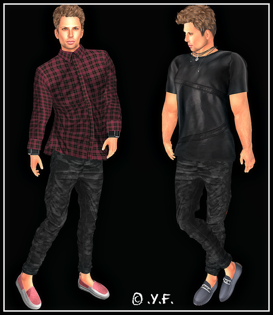 TFF - Trend Fashion Fair (round 2) / Male Items