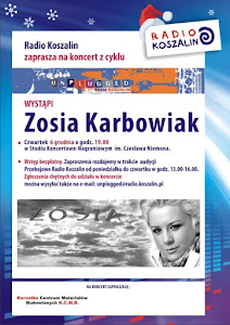 Banner Art From Unplugged Show at Radio Koszalin