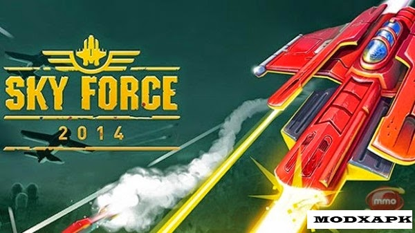 Download Sky Force 2014 1. 32 Mod APK + DATA (Unlimited Stars)