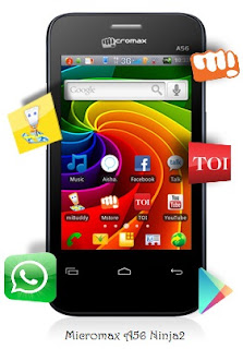 Micromax A56 Ninja2,Indian Superphone,Mobile with AISHA,