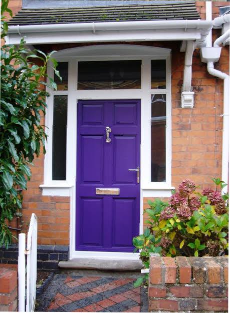 purple front door design 14 ไอเดียแต่งบ้านด้วยประตูบ้านสำหรับคนชอบสีม่วง