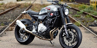 'The Faster Son' Yamaha XSR700 'Super 7' by JvB-moto