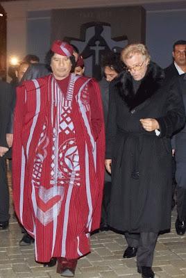 ازياء معمر القذافي