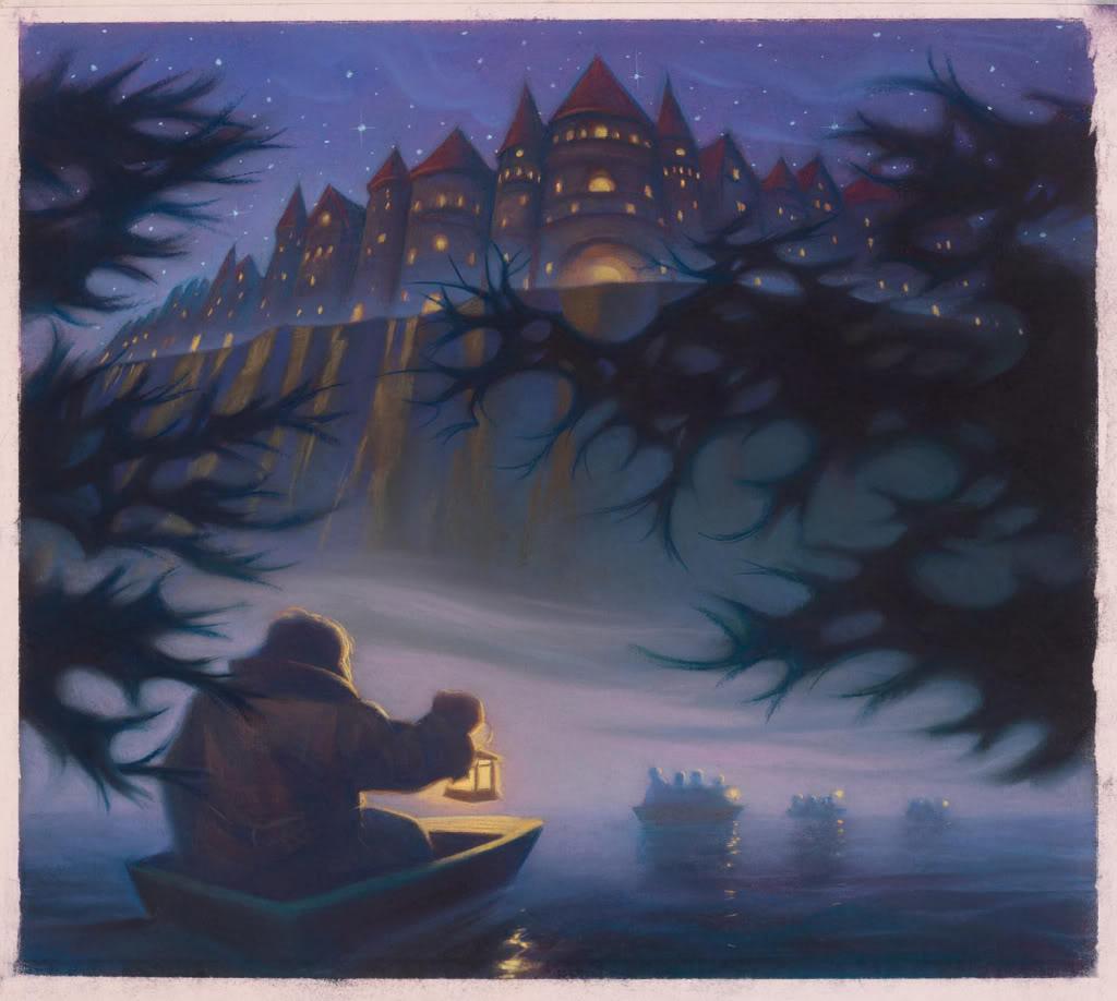 Harry Potter Book Art Hogwarts TRANSMAG: TRANS...