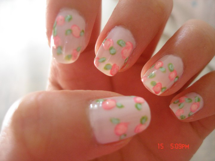 The Extraordinary Best flower nail design 2015 Images