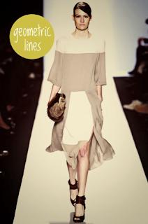 Geometric lines dress of lauren conrad