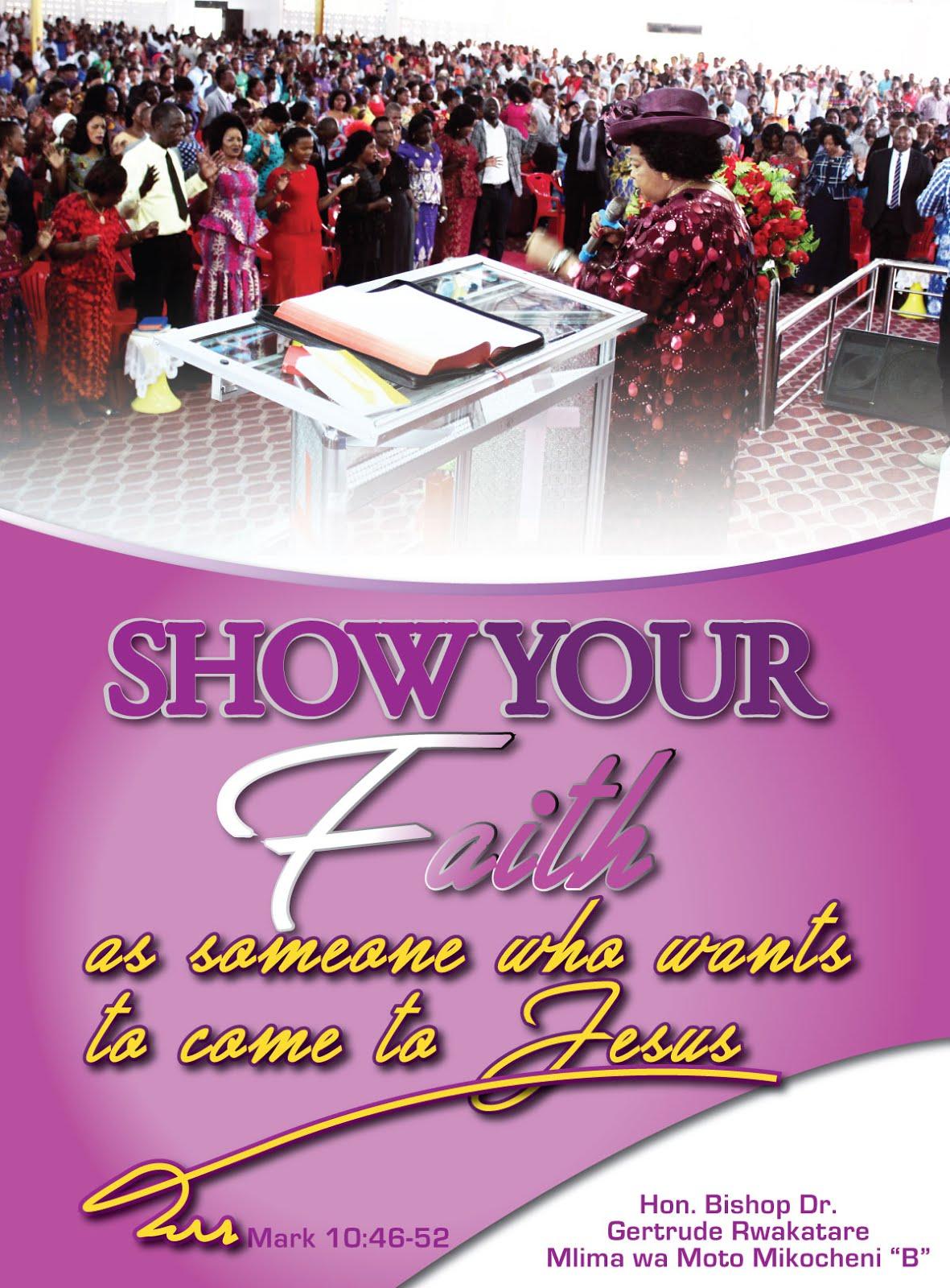 SHOW YOUR FAITH