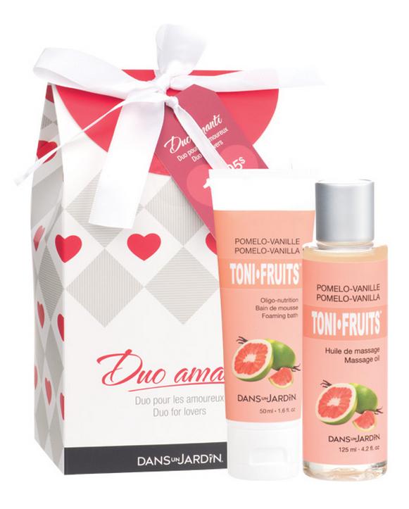 Idées cadeaux St-Valentin Duo Amanti Dans Un Jardin