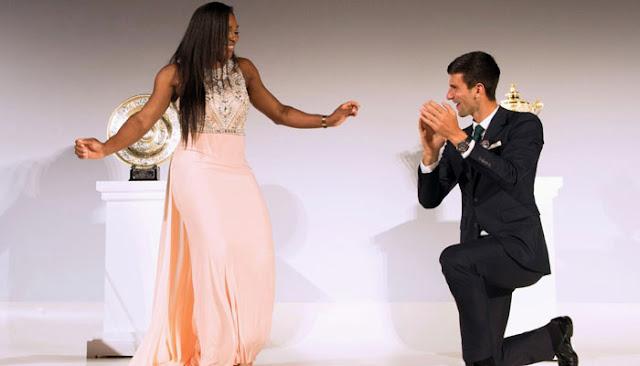 Novak Djokovic, Serena Williams reign despite sudden impact shocks