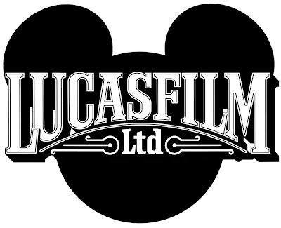 Lucasfilm logo over some disney ears