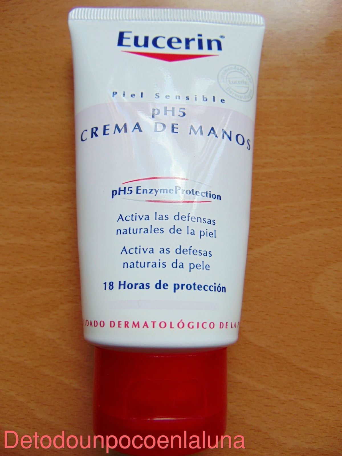 crema de manos ph5 de eucerin