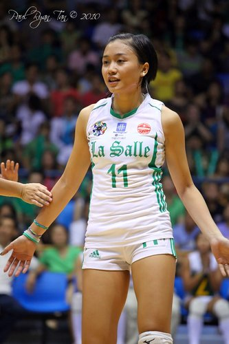 uaap season 74 women s volleyball dlsu lady spikers charleen cruz