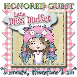 Guest DT Little Miss Muffet Stamps