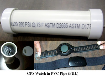 "An ominous image was discovered on the X-ray monitor at Philadelphia (PHL). It appeared to be a possible pipe bomb. While screening the bag, the passenger became upset and stated: ""I can bring a bomb through here any day I want and you will never find it."" The item ended up being a GPS watch inside a PVC pipe with two end caps. Philadelphia Police responded and arrested him on a state charge."