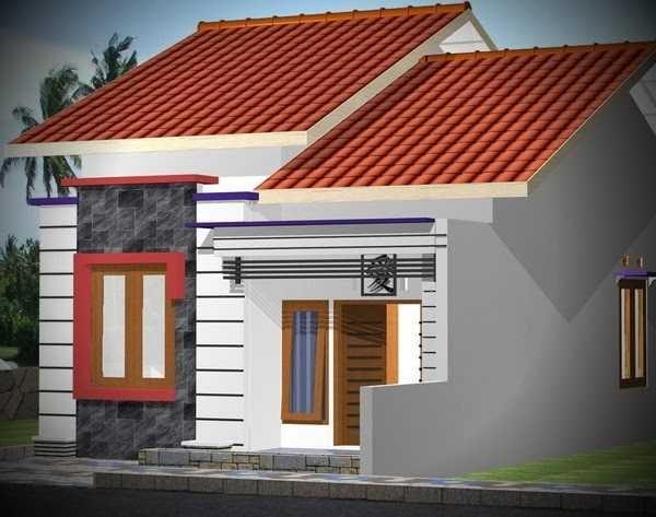 Gambar Rumah Kecil Sangat Sederhana