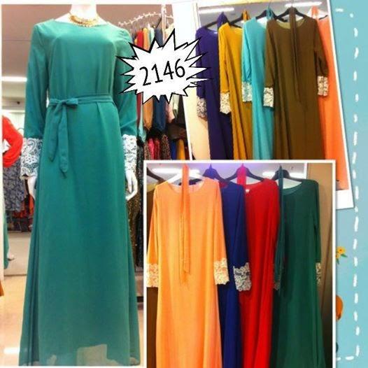 pemborong lace jubah dress lace 2146 omoomo