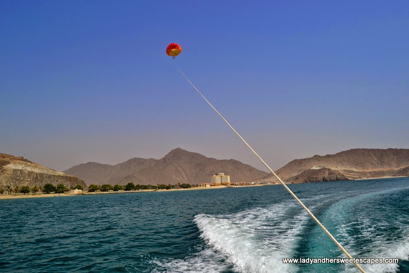 extreme adventure in Khorfakkan
