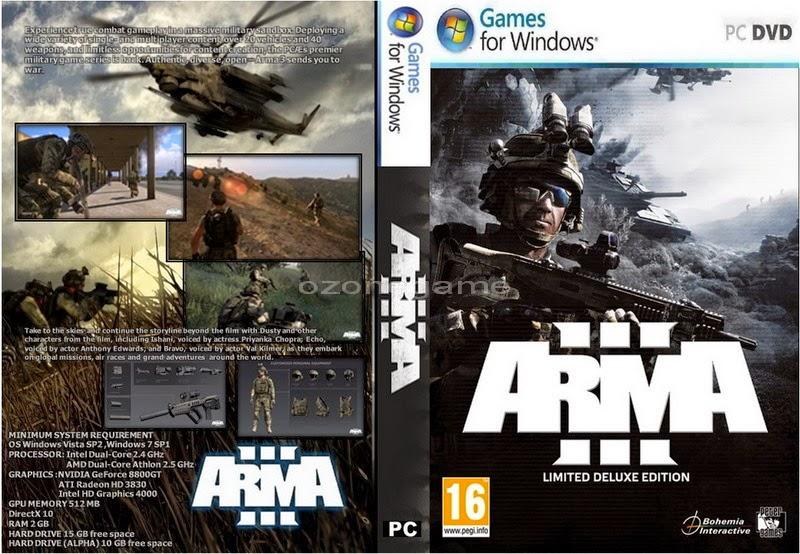تحميل لعبة ARMA 3 برابط مباشر وبدون تثبيت