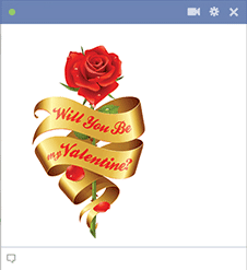 Will You Be My Valentine Rose