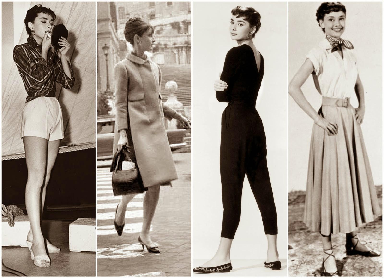 Мода одри хепберн фото