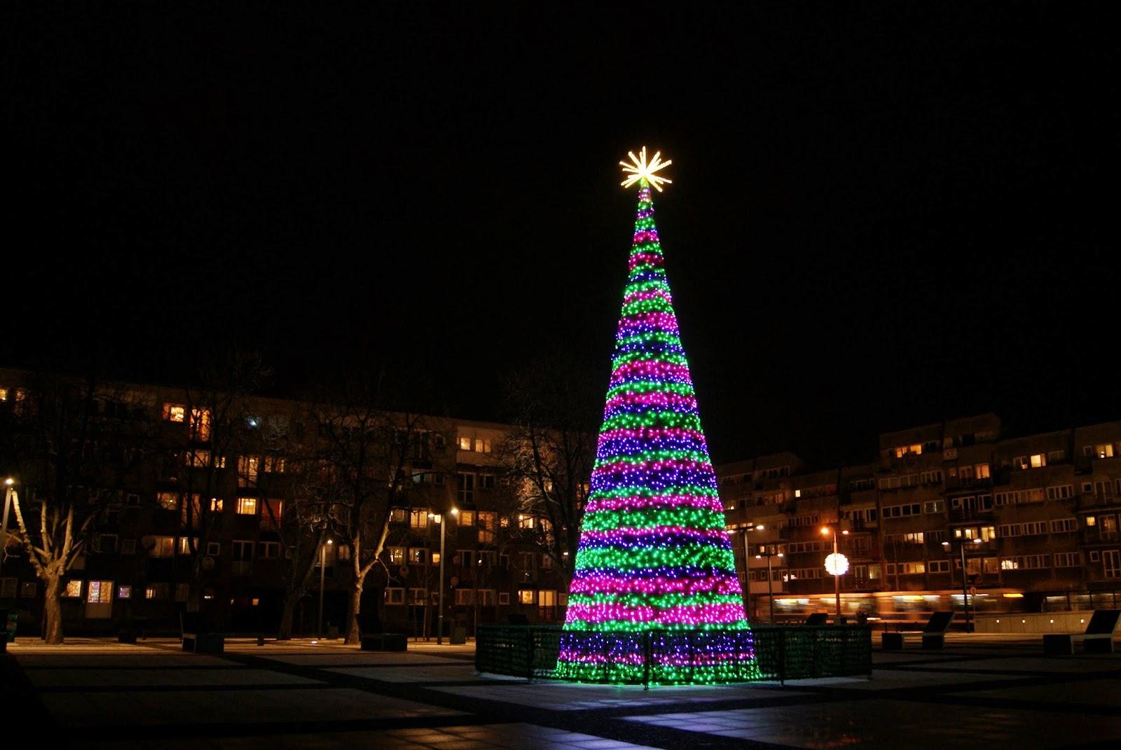 plac Nowy Targ choinka Boże Narodzenie Marta Deląg photography