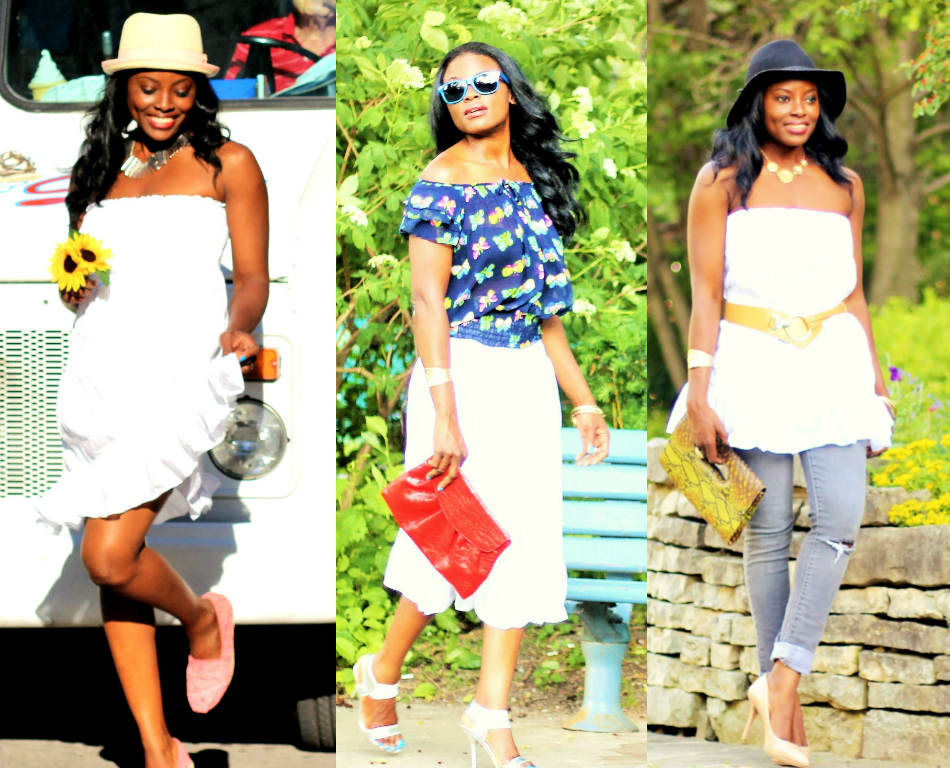 3 Refreshing Ways To Wear A little White Dress