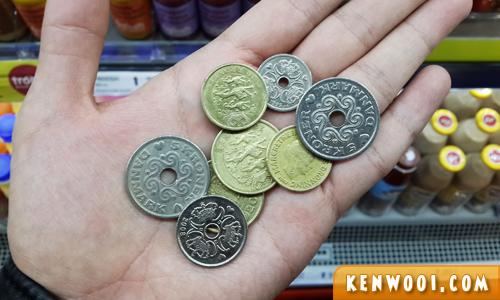 danish krone coins