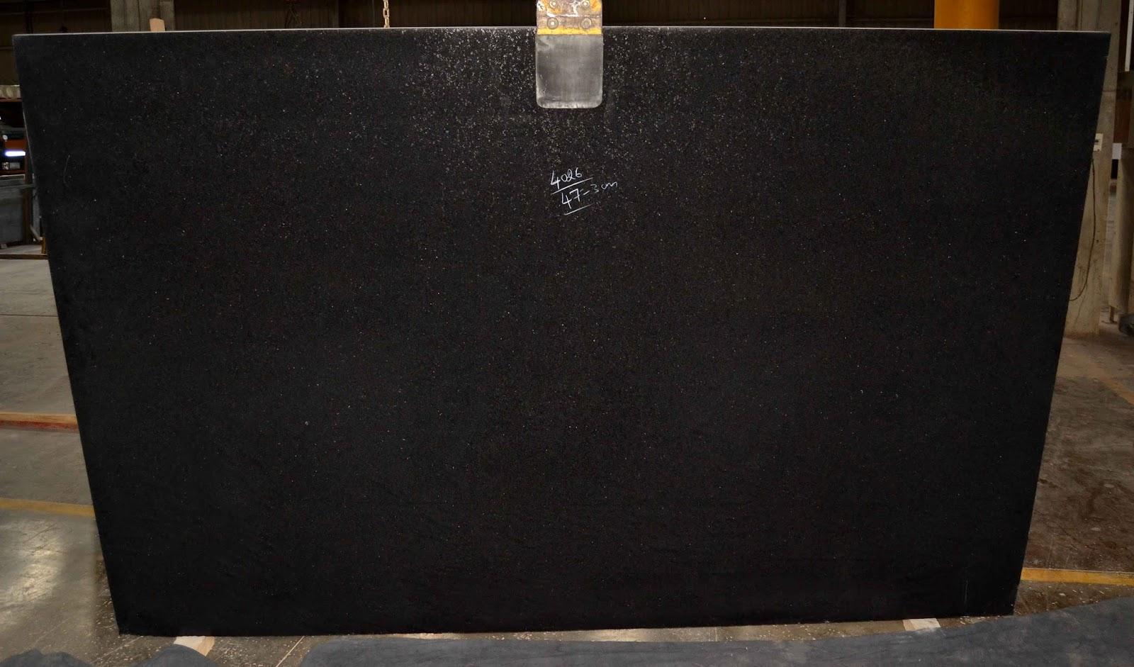 Bengal Black Granite Leather Finish Indian Black Granite