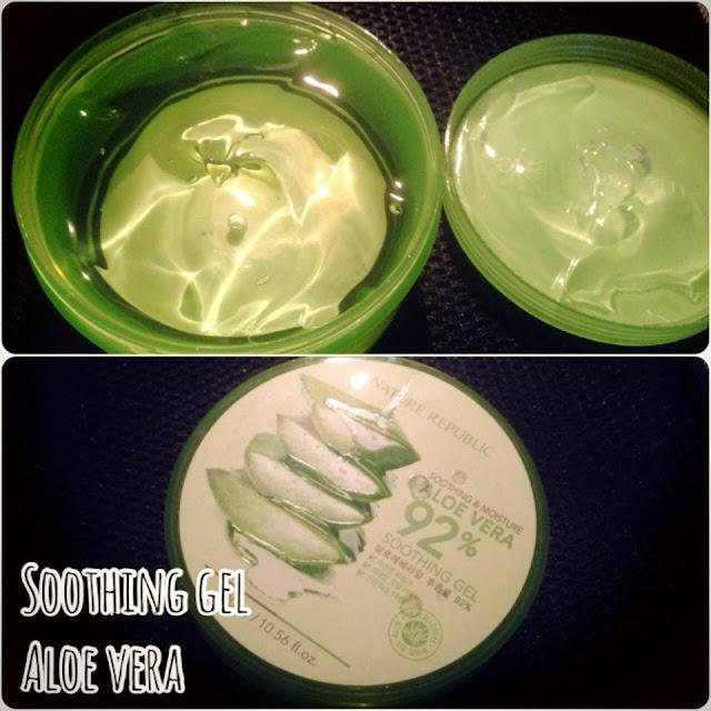 Soothing gel Aloe Vera của Nature Republic, review mỹ phẩm, dưỡng thể, dưỡng thể nha đam hàn quốc, mỹ phẩm hàn quốc, lotion, body lotion