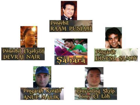senarai nama team produksi pengarah penerbit drama sahara astro prima
