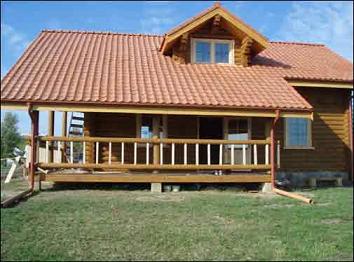 Elementos decorativos planos de casas gratis - Tejas para casas de madera ...