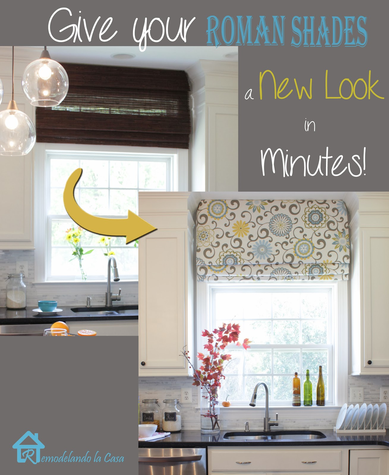 Give Your Roman Shades A New Look