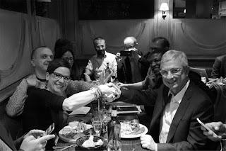 Bref, on a dîné avec Barto. Merci Claude.