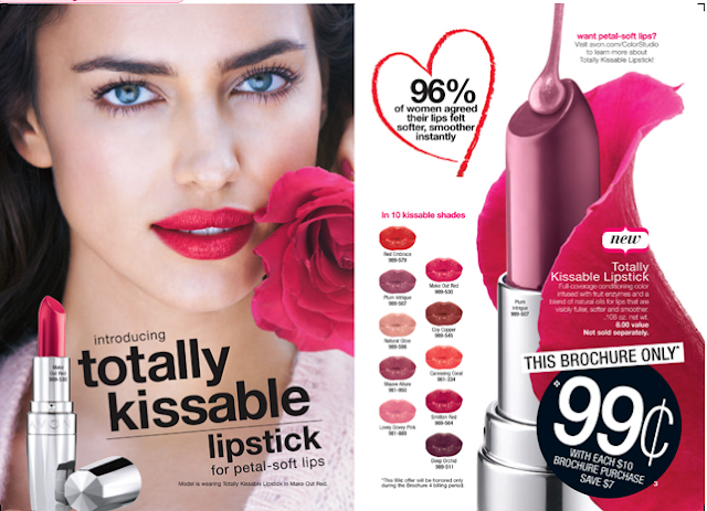 Avon Totally Kissable Lipstick