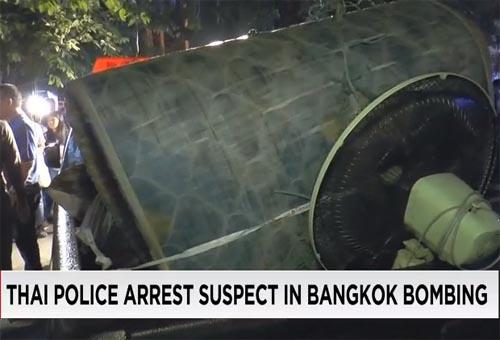 Thailand arrest bangkok bombing suspect