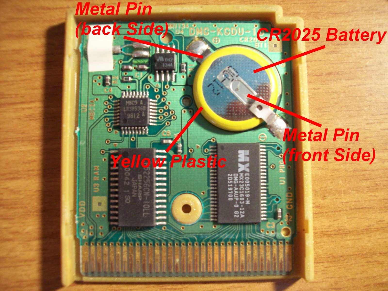 Kupo 1up How To Change Dead Batteries On Gameboy Cartridges