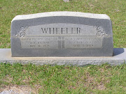 Tombstone Tuesday: Benjamin Young Wheeler and Elizabeth Jane Carr Wheeler