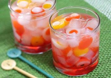 Resep Cara Membuat Es Jelly Buah (Fruit Jelly Ice)