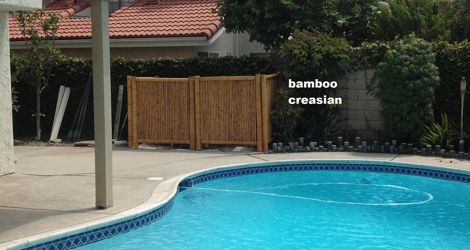bamboo fencing products are selected durable bamboo cane made from the straight poles are harvested at least 3 years old to get old enough