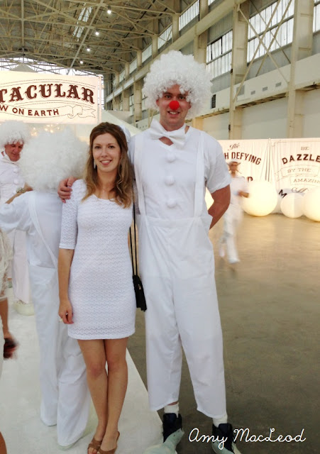 White Party NYC, circus theme. Photo by Amy MacLeod